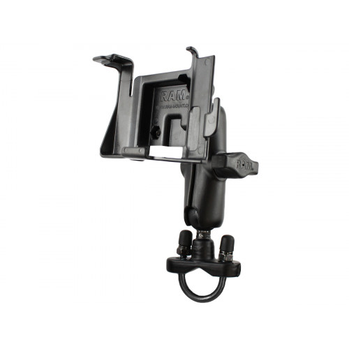 RAM Handlebar Rail Mount with Zinc Coated U-Bolt Base for the Garmin nuvi 300, 310, 350, 360 & 370