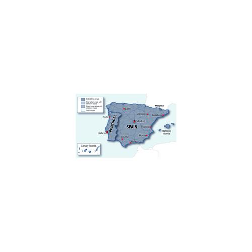 City Navigator® Spain and Portugal CNE NT, microSD/SD