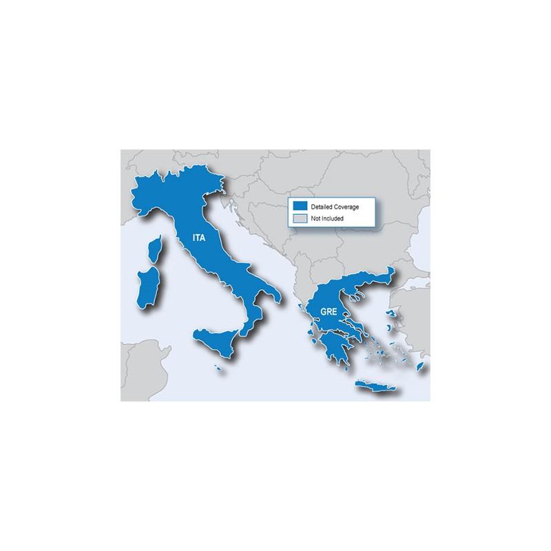 City Navigator® Italy and Greece CNE NT, microSD/SD c