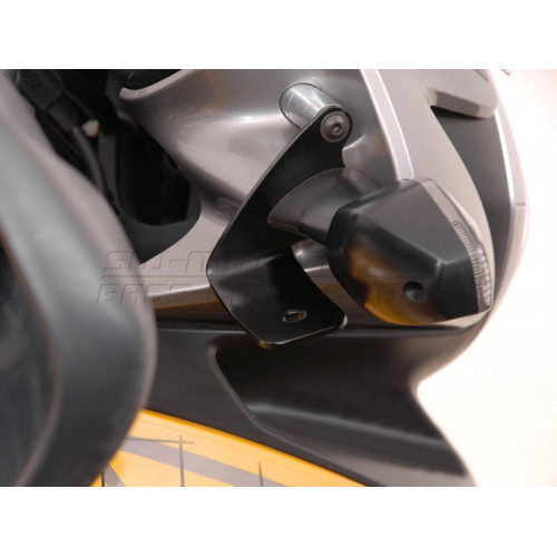 SW-MOTECH HAWK Black Light Mount fits Honda Transalp XL 700 V