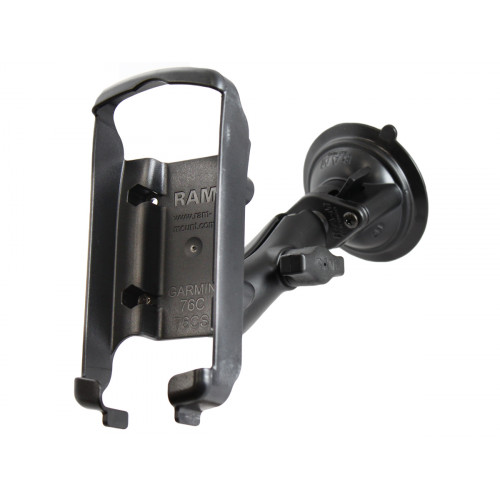RAM Twist Lock Suction Cup Mount for the Garmin GPSMAP 76C, 76CS, 76CSx, 76Cx, 96 & 96C