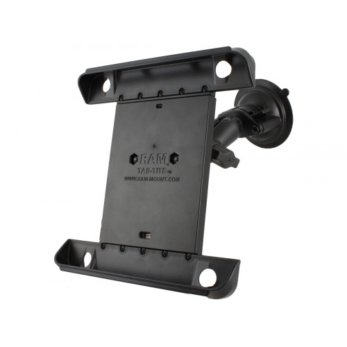RAM Twist Lock Suction Cup Mount with Tab-Tite™ Universal Clamping Cradle for the Apple iPad 4, iPad 3, iPad 2 & iPad 1 WITH OR