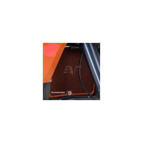 R&G Racing KTM1190 Adventure / R Radiator Guard - ORANGE
