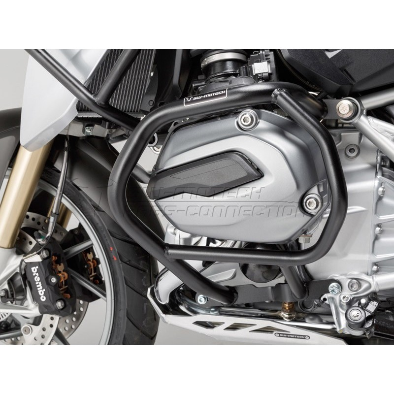 SW-MOTECH Crashbars / Lower Engine Guards For R1200GS LC BLACK
