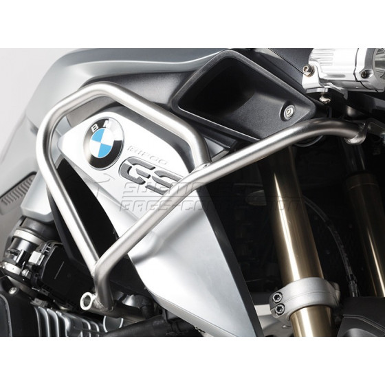 SW-MOTECH Crashbars / Upper Engine Guards For R1200GS LC - Stainless Steel
