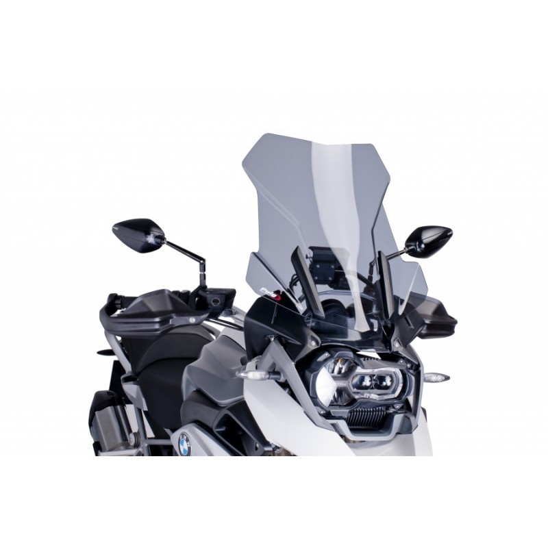 Puig Touring Screen for BMW R1200GS/ADV LC 2013 - 2015 (6486H - Smoke)
