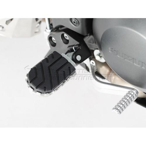 SW-MOTECH Wide Footpeg Kit - Suzuki DL650