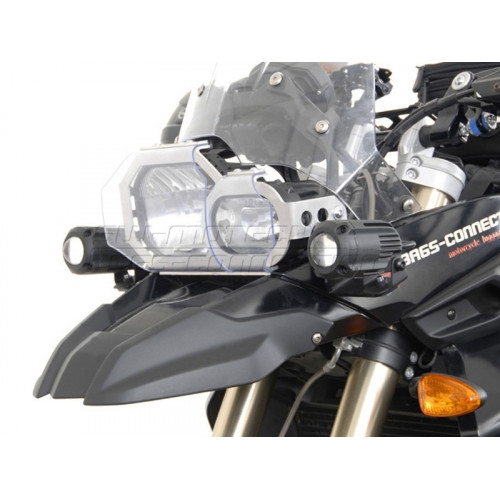 SW-MOTECH HAWK Spotlight Mount Set for BMW F800GS / F650GS