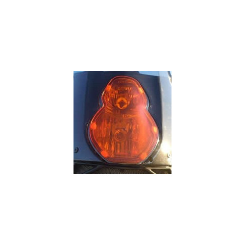 Wild@Heart Orange Headlight Cover for KTM 950/990 Adventure