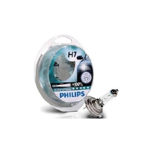 Philips X-treme Vision Plus H7 12V 55W + 100% more light Philips