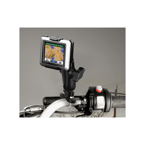 RAM Handlebar Rail Mount with Zinc Coated U-Bolt Base for the Garmin nuvi 220, 500, 510, 550 & zumo 220