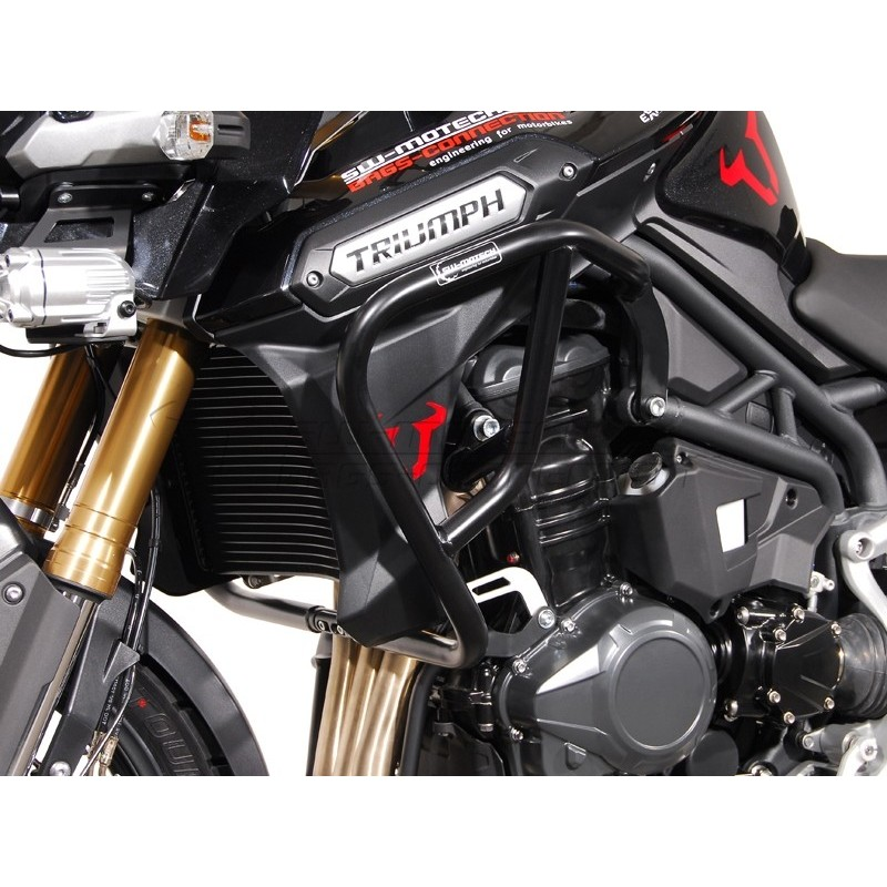 SW-MOTECH Crashbar for Triumph Tiger 1200 Explorer (11-) Black
