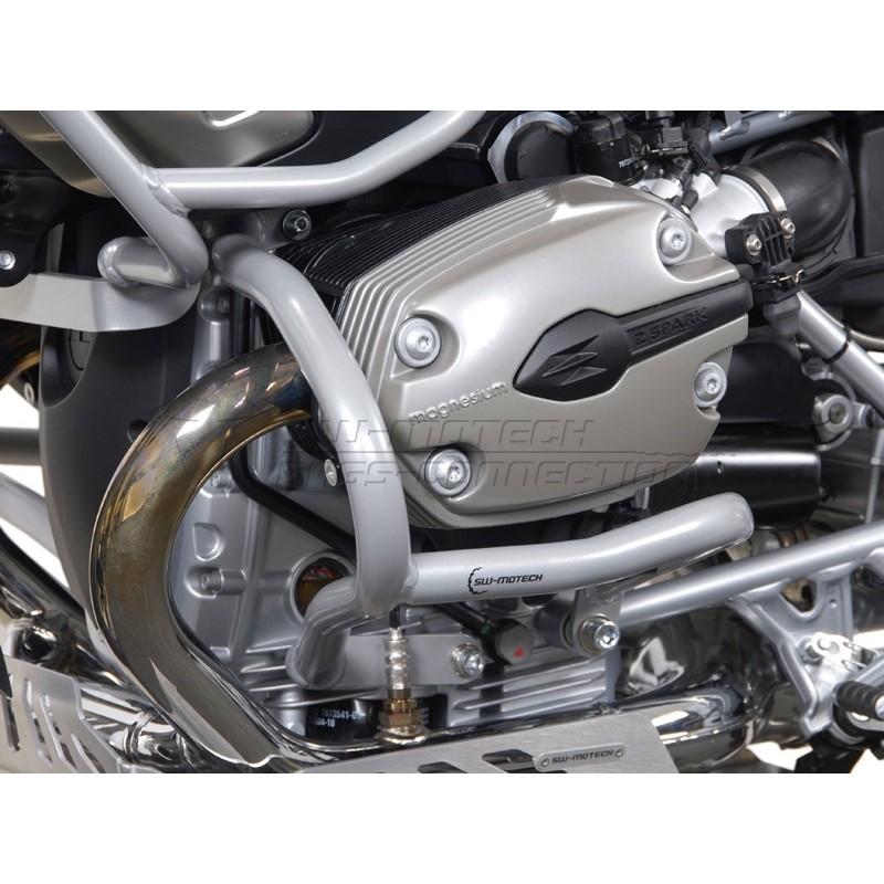 "SW-MOTECH Crashbars for BMW R1200GS, 2004-2012"" - Lower Engine"