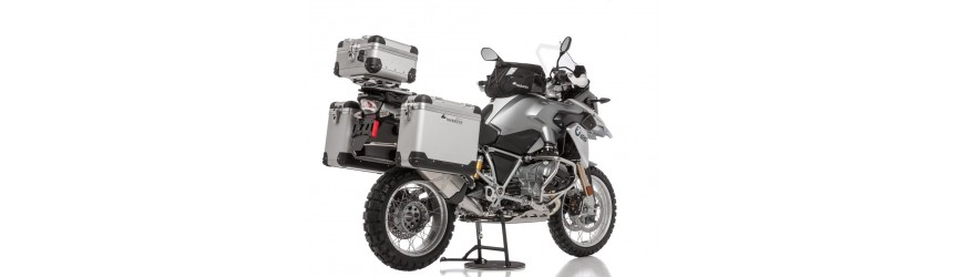 Panniers, luggage racks & bags