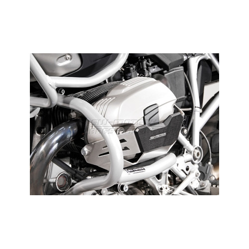 SW-MOTECH Cylinder Protection. Silver. In pairs. BMW R1200 R / GS / Adventure 2010-2013