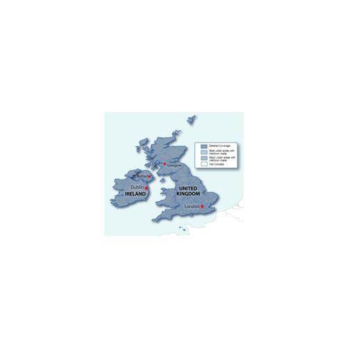 City Navigator® UK and Ireland CNE NT,microSD/SD card