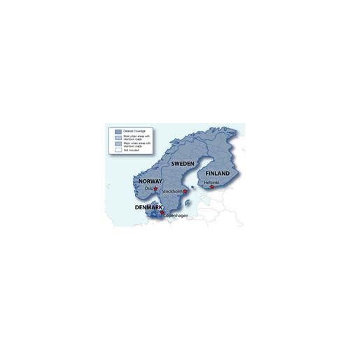 City Navigator® Nordics CNE NT, microSD/SD card