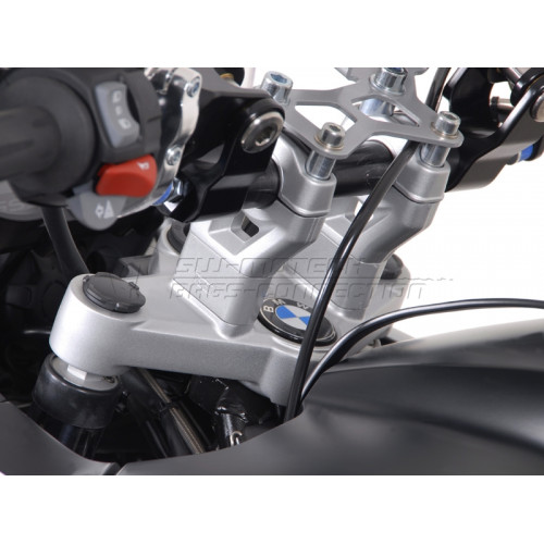 SW-MOTECH Handlebar Riser - BMW R1200 GS 2008 Onwards