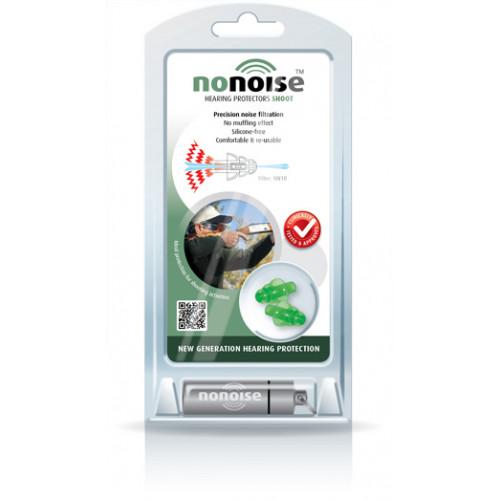 No Noise Ear Plugs - Shooting