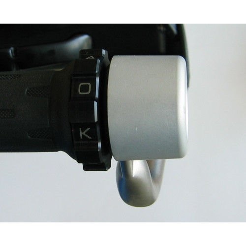 KAOKO™ Cruise Control for BMW F800GS (2013-) & F700GS for OEM steel back bone hand guards