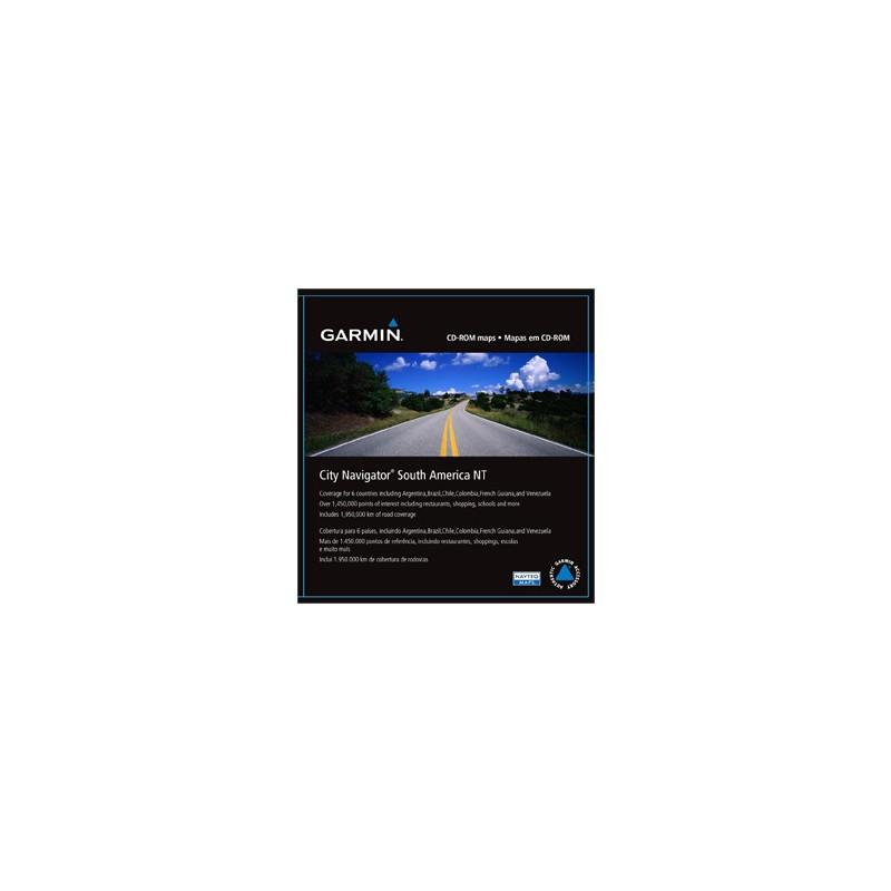 City Navigator South America NT, microSD/SD card
