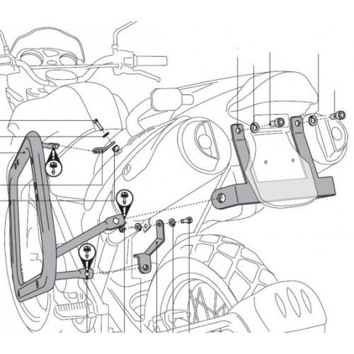 SW-MOTECH QUICK-LOCK Evo Carrier F650/Dakar/G650G/Sertao