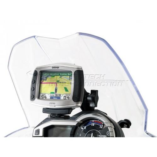 SW-MOTECH Cockpit GPS Mount - Tiger 800XC / Tiger 800 (Dash Mount)