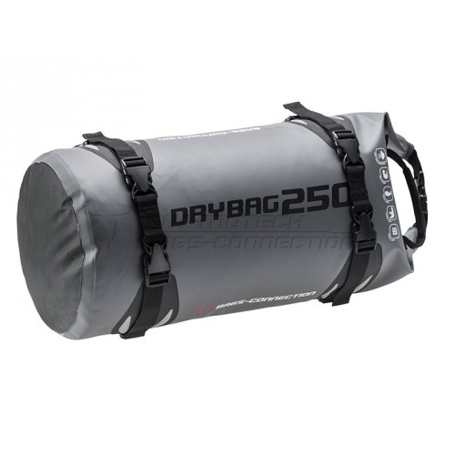 SW-MOTECH Drybag Rollbag - 25L Grey / Black