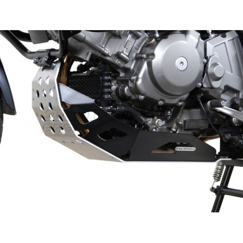 SW-MOTECH Engine Guard - black (must be mounted with Crashbars) DL 650