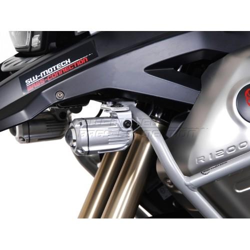 SW-MOTECH HAWK Spotlight Mount Set for BMW  R1200GS (2008 - current)