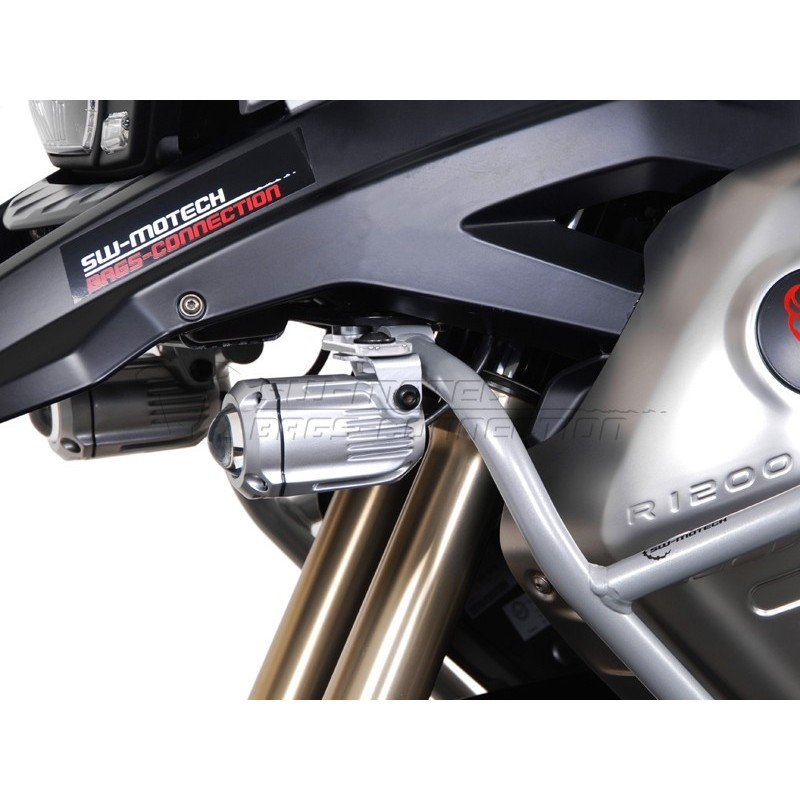 SW-MOTECH HAWK Spotlight Mount Set for BMW  R1200GS (2008 - current)