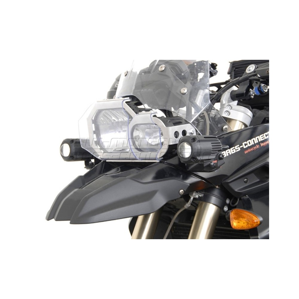 Bmw F650gs Dakar Single Gps 4 Africa Motorcycle Parts 2001 Kl650a15 Klr650 Engine Covers Diagram Sw Motech Hawk Spotlight Mount Set For F800gs