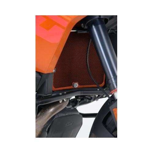 R&G Racing Radiator Guards for KTM 1190 Adventure / R ('13-) - BLACK