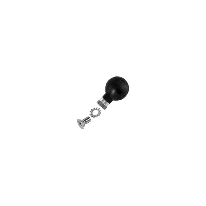 RAM Motorcycle 1 Ball Adapter for Brake/Clutch Reservoir Base