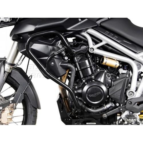 SW-MOTECH Crashbar for Triumph Tiger 800 / 800 XC (10-) Black
