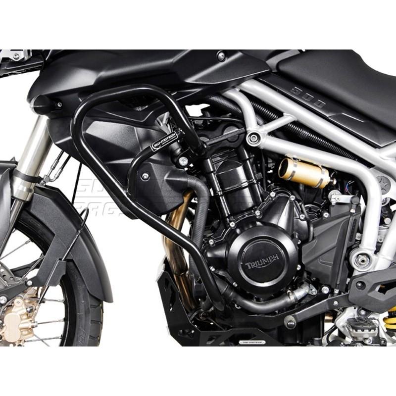Sw Motech Crashbar For Triumph Tiger 800 800 Xc 10 Black Gps