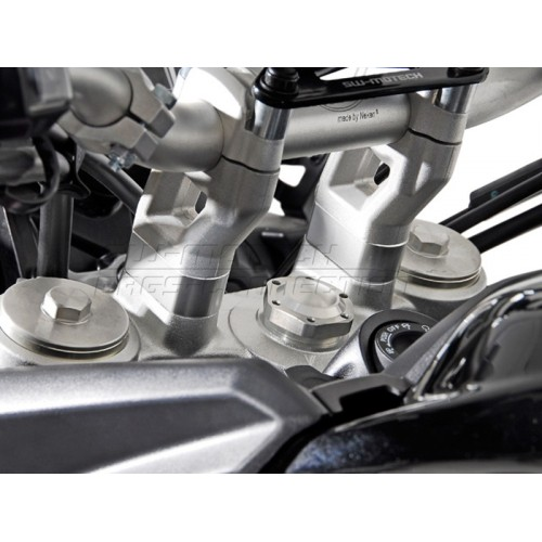 SW-MOTECH Handlebar Riser for Triumph Tiger 800 / XC (11-) 20 mm