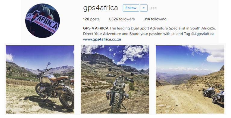click here to visit our GPS4AFRICA SA instagram page